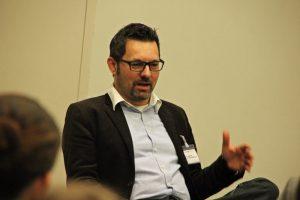 Bruno Kollhorst gewährte Einblicke in das Thema Social Media bei der Techniker Krankenkasse