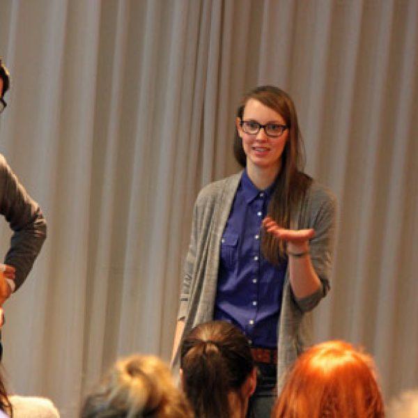 Kathrin Buse und Christian Riedel berichten über Online-PR für Bordeaux Wein